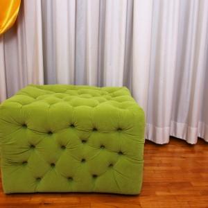 Poltrona a cuscini a materasso